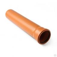 Труба для наружной канализации из ПП 110*3,4*500 мм 20011005