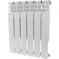 ROMMER Optima 500 6 секций радиатор алюминиевый (RAL9016) 89557
