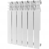 ROMMER Plus 500 6 секций радиатор алюминиевый (RAL9016) 89563
