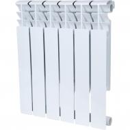 ROMMER Plus BM 500 6 секций радиатор биметаллический (RAL9016)
