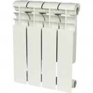 ROMMER Profi 350 (AL350-80-80-080) 4 секции радиатор алюминиевый (RAL9016) 86620