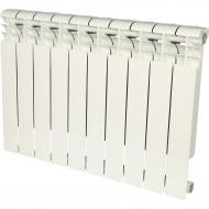 ROMMER Profi 500 (AL500-80-80-100) 10 секции радиатор алюминиевый (RAL9016) 82485