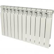 ROMMER Profi 500 (AL500-80-80-100) 12 секции радиатор алюминиевый (RAL9016) 82486
