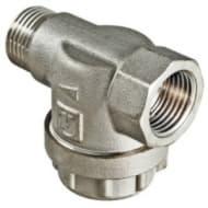 Фильтр латунный прямой внутренняя-наружная  1/2 VALTEC VT.387.N.04