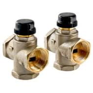 Трехходовой термостатический смесительный клапан 1 с центральным смешиванием