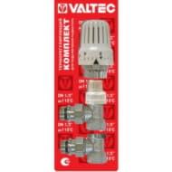 Комплект терморегулировки угловой для радиатора 1/2 VT.045.N.04