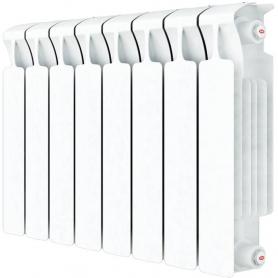 RIFAR MONOLIT VENTIL 500 MONOLIT VENTIL 500 MVR 10 секций радиатор биметаллический нижнее правое подключение (белый RAL 9016) MVR 500 - 10