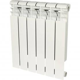 ROMMER 6 секции радиатор биметаллический Profi BM 500 (BI500-80-80-150) 82488