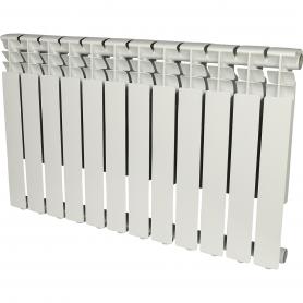 ROMMER Optima 500 12 секций радиатор алюминиевый (RAL9016) 89560