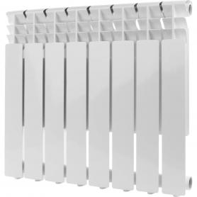 ROMMER Optima 500 8 секций радиатор алюминиевый (RAL9016) 89558