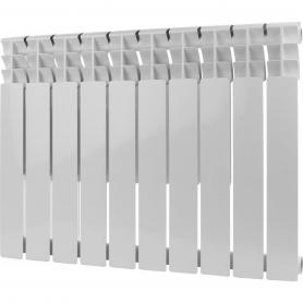 ROMMER Optima BM 500 10 секций радиатор биметаллический (RAL9016) 89573