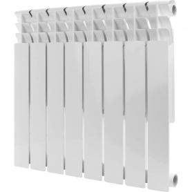 ROMMER Optima BM 500 8 секций радиатор биметаллический (RAL9016) 89572