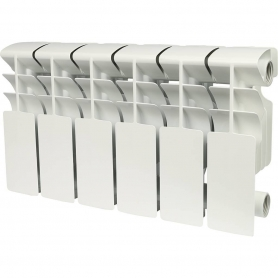 ROMMER Plus 200 6 секций радиатор алюминиевый (RAL9016) 89989