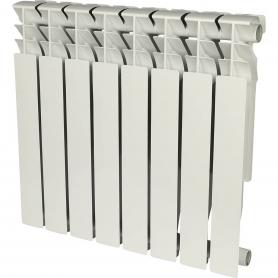ROMMER Plus 500 8 секций радиатор алюминиевый (RAL9016) 89565