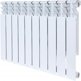 ROMMER Plus BM 500 10 секций радиатор биметаллический (RAL9016) 157236