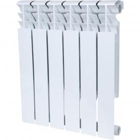ROMMER Plus BM 500 6 секций радиатор биметаллический (RAL9016) 157234