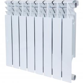 ROMMER Plus BM 500 8 секций радиатор биметаллический (RAL9016) 157235