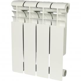 ROMMER Profi 350 (AL350-80-80-080) 4 секции радиатор алюминиевый (RAL9016)