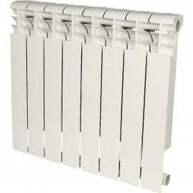 ROMMER Profi 500 (AL500-80-80-100) 8 секции радиатор алюминиевый (RAL9016) 82484
