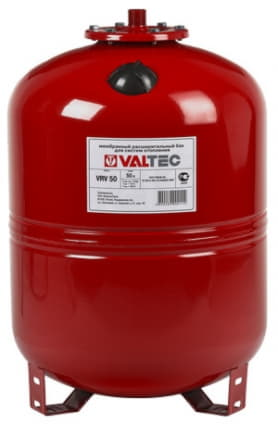 Расширительный мембранный бак для отопления 150 VT.RV.R.070150