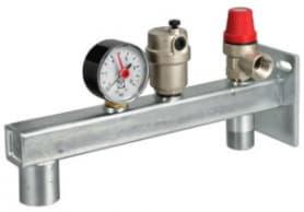 Группа безопасности расширительного бака, до 44 кВт, до 120 °С, 3 бара, VALTEC