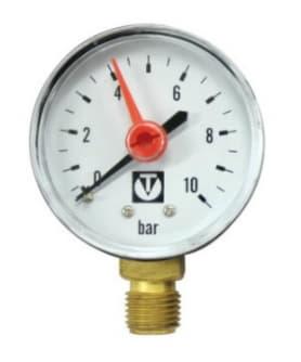Манометр давления воды 1/4 для самоочищающегося фильтра