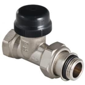 Клапан термостатический для радиатора прямой с преднастройкой (KV 0,1-0,6) 3/4