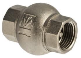 Клапан обратный 1 латунный золотник VALTEC
