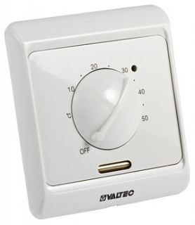 Терморегулятор для теплого пола Valtec (НЗ сервопривод–отопл., НО-охл. конд.)