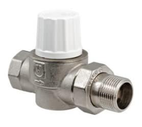 Клапан термостатический для радиатора улучшенный прямой 1/2 VT.034.N.04