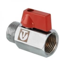 Кран шаровый MINI (мини)1/2 внутренняя-наружная VALTEC VT.331.N.04