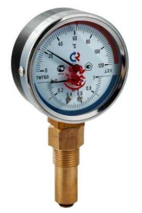 Термоманометр ТМТБ-31P нижний 1/2 10 бар 0-150 ТМТБ-31P.0410150