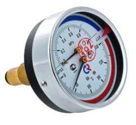 Термоманометр ТМТБ-31T задний 1/2 10 бар 0-120 ТМТБ-31T.0410120
