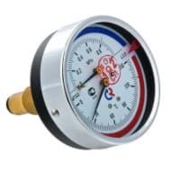 Термоманометр ТМТБ-31T задний 1/2 10 бар 0-120