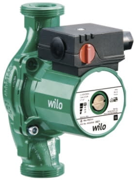 Циркуляционный насос с гайками Wilo Star RS 25/2