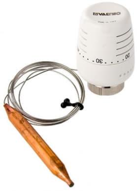 Термоголовка с выносным погружным датчиком (регулировка 20-60С) 2м Valtec