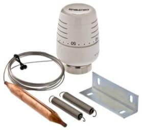 Термоголовка с выносным накладным датчиком (регулировка 20-60С) 2м Valtec