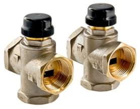 Клапан трехходовый смесительный 1 (с центральным смешиванием) Valtec