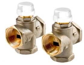 Клапан трехходовой смесительный 1 (с боковым смешиванием, с возможностью полного перекрытия) Valtec