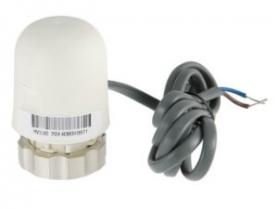 Электротермический сервопривод для теплого пола Valtec, закрытый, питание 24 В,