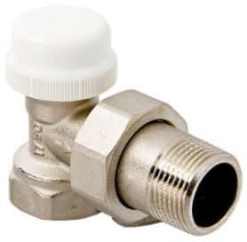 Клапан термостатический для радиатора угловой 1/2