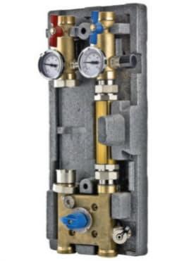 Насосная группа с байпасом и трехходовым клапаном  для систем VARIMIX 1 1/4 - 3W-KV4
